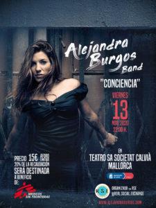 Concierto Alejandra Burgos en Mallorca
