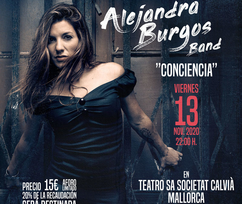 Alejandra Burgos en Concierto Solidario para MÉDICOS SIN FRONTERAS